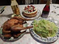 今年もクリスマスチキン   <料理お弁当部門> - ふつうの生活 ふつうのパラダイス♪