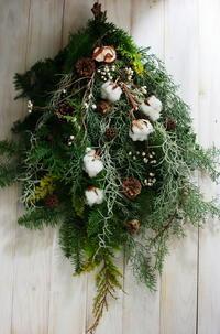 12月定期スクール クリスマスリースなど とお正月アレンジ販売 - 一会 ウエディングの花