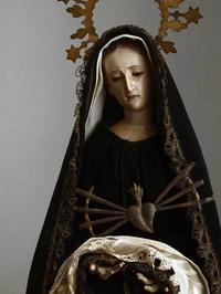 悲しみの聖母マリア ドロローサ カピポタ   /168 - Glicinia 古道具店