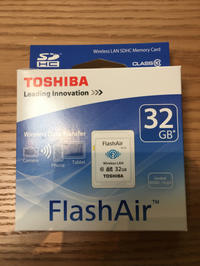 FlashAirでK-mをWiFi対応させた。 - ( … > Z_ ̄∂