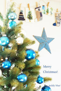 Merry Christmas!  メリークリスマス! - teddy blue