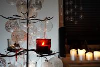 わが家の鉄とガラスとキャンドルのクリスマスツリー*2016 - buckの気ままなblog。