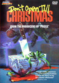 「クリスマスまで開けないで/サンタクロース殺人事件」 Don't Open Till Christmas  (1984) - なかざわひでゆき の毎日が映画三昧