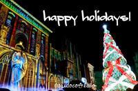 happy holidays - おだいどこ・らぼ