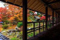 京都の紅葉2016 十輪寺の額縁紅葉(写真部門) - 花景色-K.W.C. PhotoBlog