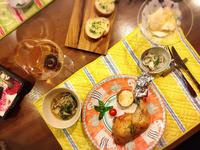 クリスマスイブの夜はチキングリルとカブのジンジャーマリネ - Coucou a table!      クク アターブル!