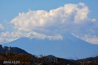 90km先の富士 先週は‥ - 写愛館