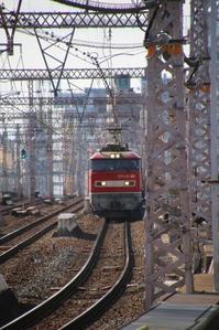 藤田八束の鉄道写真@貨物列車写真・・・山陽本線を快走するレッドサンダー - 藤田八束の日記