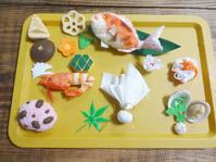 今日の作業報告・フェルトのお祝い御膳製作(ハンドメイド・雑貨DIY部門) - maruwa★taroのFelt Factory