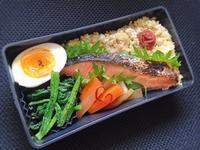 12/26 鮭弁当 - ひとりぼっちランチ
