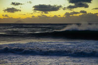 冬の低気圧d - 雲空海