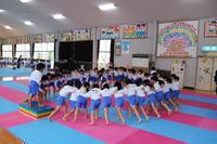 体操自主練習2日目(年長) - 慶応幼稚園ブログ【未来の子どもたちへ ~Dream Can Do!Reality Can Do!!~】