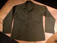 NOS 40's U.S.N. M-41 HBT utility jacket - BUTTON UP clothing