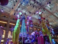 再び置地廣場(ザ・ランドマーク)のクリスマスデコレーション2  (海外旅行部門) - 香港貧乏旅日記 時々レスリー・チャン
