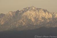 富山散歩~県東部377~12月、雪化粧の剱岳 - Tomの一人旅~気のむくまま、足のむくまま~