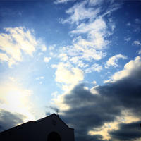 #174 Sky and church 空と教会(写真部門) - THIS MOMENT