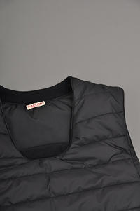 KAPITAL Nylon Quilting Pullover Vest - un.regard.moderne