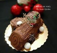 2016年のクリスマスケーキ、 ブッシュ・ド・ノエル - Sweetな日々*ボストンから