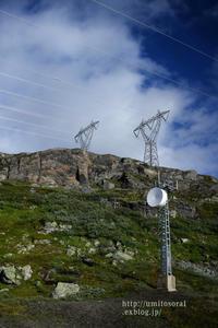 ノルウェーの山岳地帯 - 一瞬をみつめて