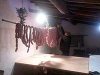 トスカーナ風ソーセージの食べ方 - フィレンツェ田舎生活便り2