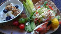タンジネスクラブのオープンサンド - 料理研究家ブログ行長万里  日本全国 美味しい話