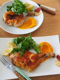 クリスマスランチ、鶏もも肉のコンフィ - エリンゲル日記