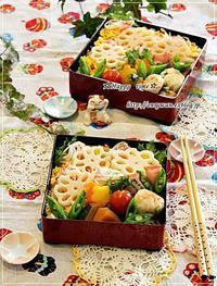 仕事収め☆ちらし寿司弁当と今夜は鍋♪ - ☆Happy time☆