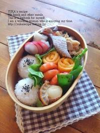 12.28 焼肉・おにぎり弁当&仕事納め - YUKA'sレシピ♪