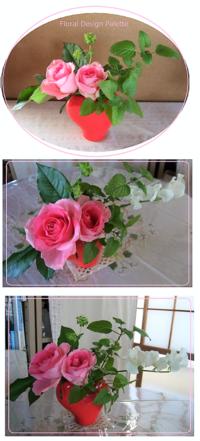 ピンクのバラで女子力UP↑ - Natura・yu-lu・yu-laな毎日