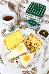 チョコとオレンジのシフォンケーキ ムースレアチーズケーキ - ころころまるしぇ