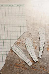 フェルト刺繍作品制作過程~No9 型紙作り~ - ビーズ・フェルト刺繍作家PieniSieniのブログ