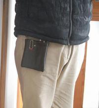 ガラケイと眼鏡のための超小型ポーチ - ちょい古道具ライフ