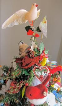 鳥ツリー完成!聖夜は「庄田神社」を詣でます。 - 蜂谷真紀  ふくちう日誌