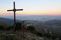 夕焼け北風テッツィオ山、ペルージャ - ペルージャ イタリア語・日本語教師 なおこのブログ - Fotoblog da Perugia