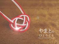 冬休みのアルバム 「水引」 - yamatoのひとりごと
