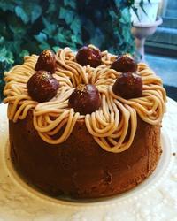 モンブランシフォンケーキ(パン スイーツ部門) - 調布の小さな手作りお菓子・パン教室 アトリエタルトタタン