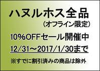 ハヌルホス10%セール(オフラインのみ) - アンニョン! ハーモニーマート 明洞 ブログ★