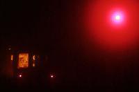 夜霧に消える丹後の海 - 今日も丹後鉄道
