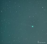12月30日の45P/Honda-Mrkos-Pajdusakova彗星 - お手軽天体写真