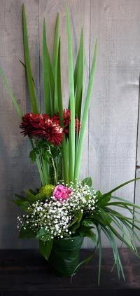 ご自宅での四十九日法要に②。月寒東5条にお届け。 - 札幌 花屋 meLL flowers