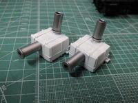 アオシマのDD51 消音器の塗装 - Sirokamo-Industry