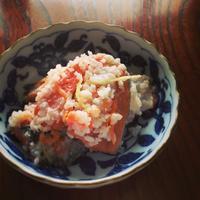 わが家のおせち 鮭の飯寿司 - ふみえ食堂  - a table to be full of happiness -