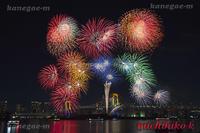お台場冬の花火 2016 12 31 - 風景写真家 鐘ヶ江道彦のフォトブログ