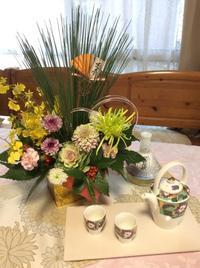 Happy New Year 2017 - coco diary 山口県 お花とテーブルコーディネート教室