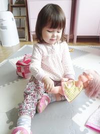 ついに娘がメルちゃん人形デビュー☆ - ドイツより、素敵なものに囲まれて