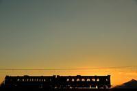 晴れの元日 - 今日も丹後鉄道