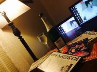 2016年大晦日:ニャンコと年越し - にゃんこと暮らす・アメリカ・アパート