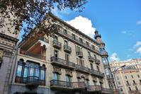 Gran Viaの建物めぐり8 Casa Pia Batllo1 - gyuのバルセロナ便り  Letter from Barcelona