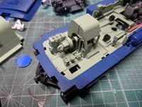 アオシマのDD51 補器類の取り付け - Sirokamo-Industry