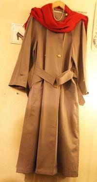 CHANEL muffler coat - carboots
